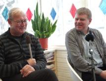 Andrus Kivirähk ja Heiki Ernits