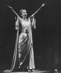 Callas in Norma 1954