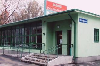 Männi raamatukogu sissepääs