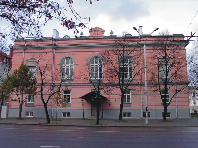 Tallinna Keskraamatukogu peahoone fälisfassaad