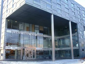 Nurmenuku raamatukogu välisfassaad