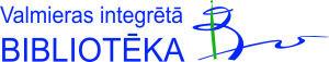 Valmiera integratsiooniraamatukogu logo