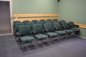 pehmed toolid videosaalis