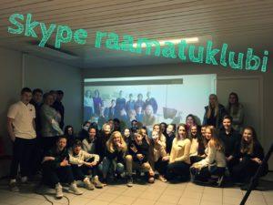grupipilt Skype raamatuklubilistest