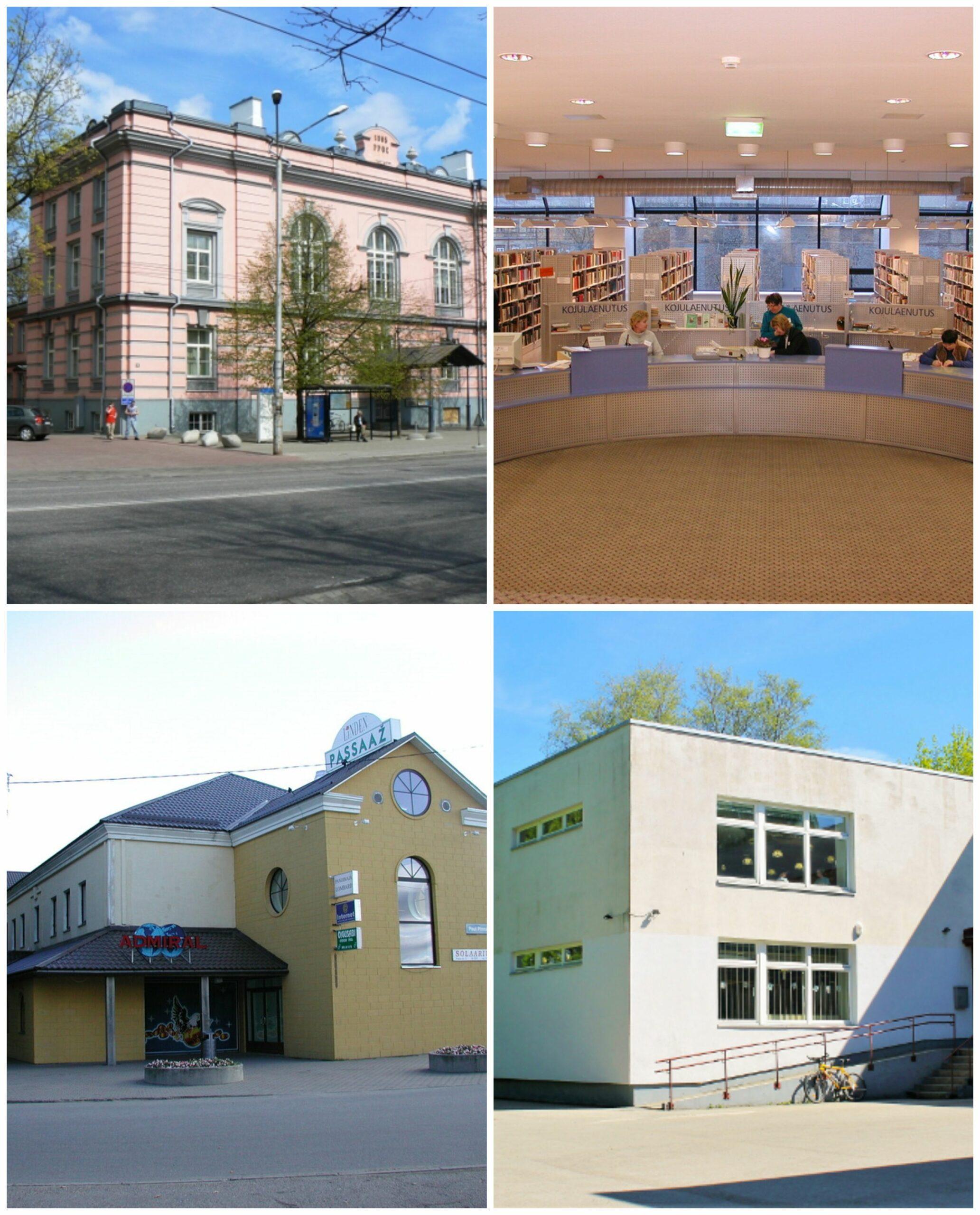 neli raamatukogu