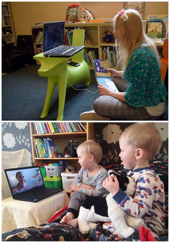 lastele raamatute ettelugemine